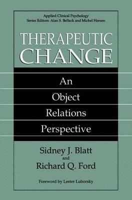 Therapeutic Change by Sidney J. Blatt