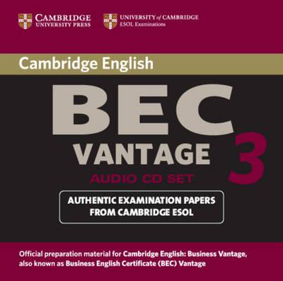 Cambridge BEC Vantage 3 Audio CD Set (2 CDs) book