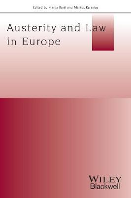 Austerity And Law In Europe by Marija Bartl