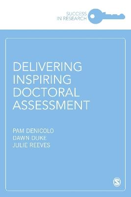 Delivering Inspiring Doctoral Assessment book