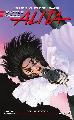 Battle Angel Alita Deluxe Edition 4 book