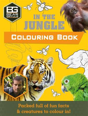 Bear Grylls Colouring Books: In the Jungle by Bear Grylls