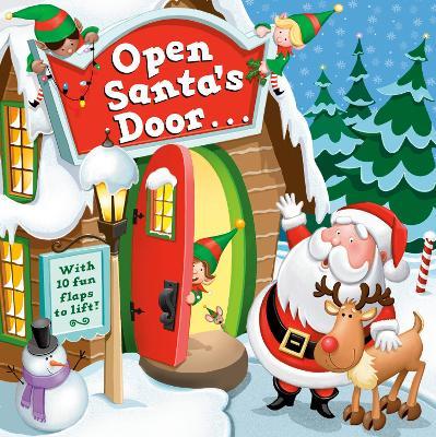 Open Santa's Door book