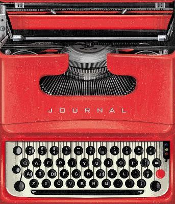 Vintage Typewriter Journal book