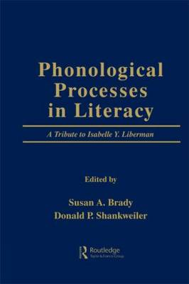 Phonological Processes in Literacy book