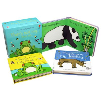 That's not my Boxset - Frog, Bear, Donkey book