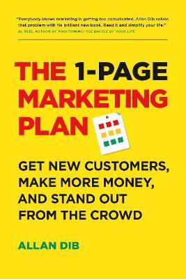 1-Page Marketing Plan by Allan Dib
