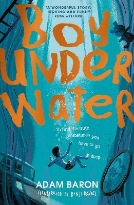 Boy Underwater by Adam Baron