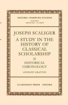 Joseph Scaliger: II: Historical Chronology book