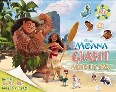 Disney: Moana Giant Activity Pad book