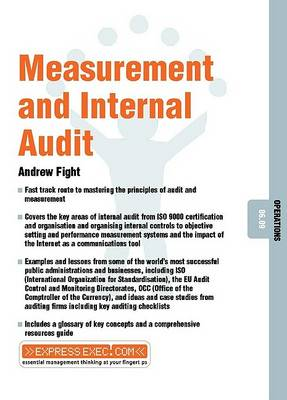 Measurement and Internal Audit: Operations 06.09 by Andrew Fight