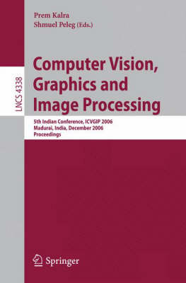 Computer Vision, Graphics and Image Processing by Prem Kalra