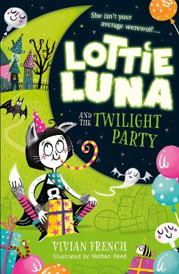Lottie Luna and the Twilight Party (Lottie Luna, Book 2) by Vivian French
