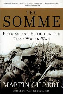 The Somme by Sir Martin Gilbert