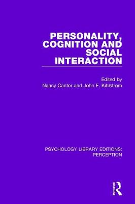 Personality, Cognition and Social Interaction by Nancy Cantor