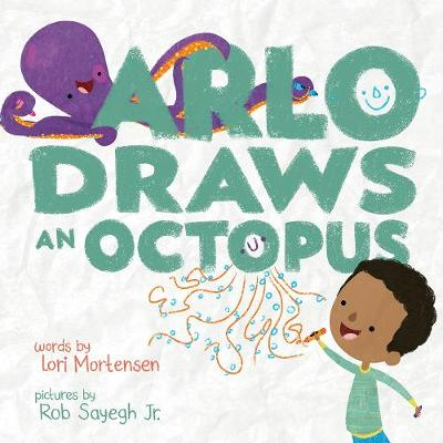 Arlo Draws an Octopus book