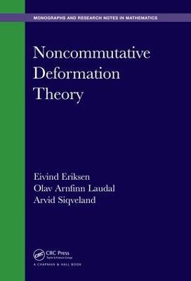 Noncommutative Deformation Theory book
