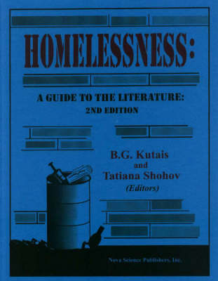 Homelessness by B. G. Kutais