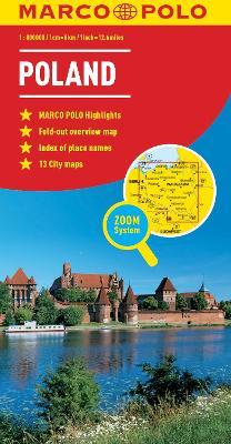 Poland Marco Polo Map by Marco Polo
