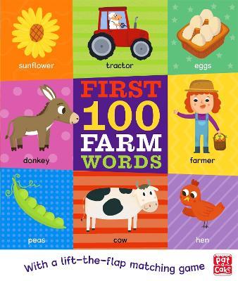 First 100 Farm Words book
