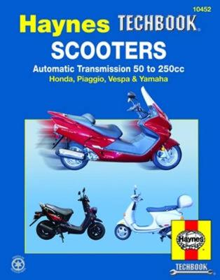 HM Scooters Automatic Transmissio 50-250 by Haynes