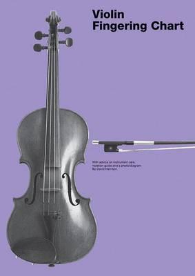 Violin Fingering Chart by David Harrison