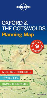 Lonely Planet Oxford & the Cotswolds Planning Map by Lonely Planet