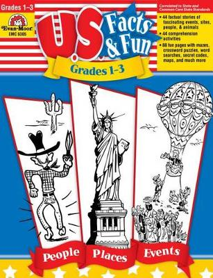 U.S. Facts & Fun, Grades 1-3 by Evan-Moor Educational Publishers