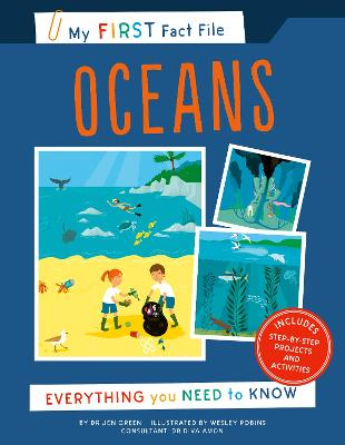 My First Fact File Oceans: Everything you Need to Know by JEN GREEN