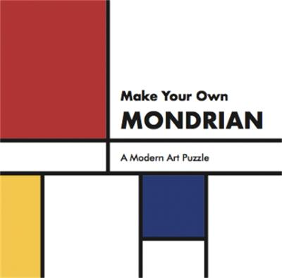 Make Your Own Mondrian: A Modern Art Puzzle by Henry Carroll