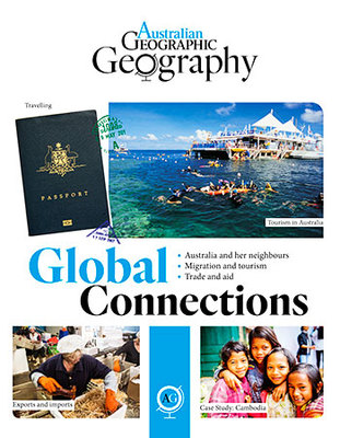 Australian Geographic Geography: Global Connections book
