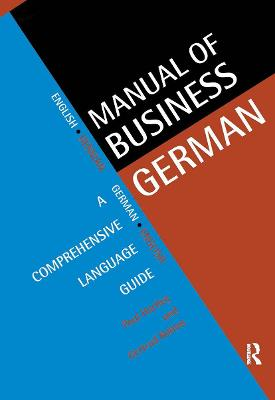 Manual of Business German by Paul Hartley