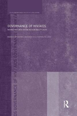 Governance of HIV/AIDS by Sophie Harman