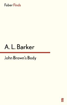 John Brown's Body book