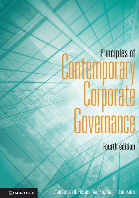 Principles of Contemporary Corporate Governance by Jean J. Du Plessis