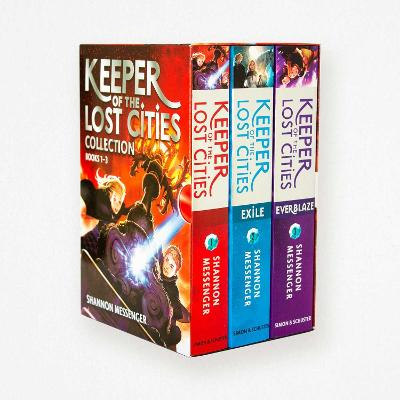 Keeper of the Lost Cities Collection Books 1-3 book