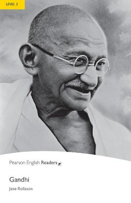 Level 2: Gandhi Book and MP3 Pack by Jane Rollason