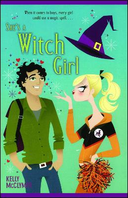 She's a Witch Girl book