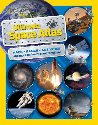 National Geographic Kids Ultimate Space Atlas by Carolyn DeCristofano