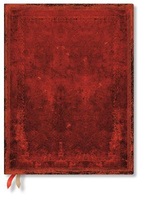 2022 Red Moroccan Bold, Ultra, Business Planner: Softcover, flexi binding, 80 gsm, no closure book