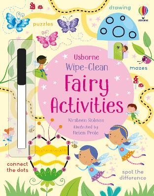 Wipe-Clean Fairy Activities book