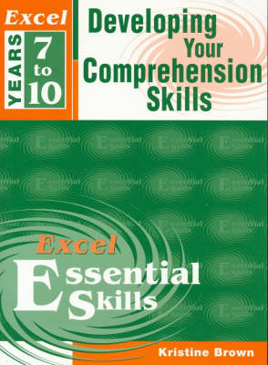 Excel Year 8: Developing Your Comprehension Skills book