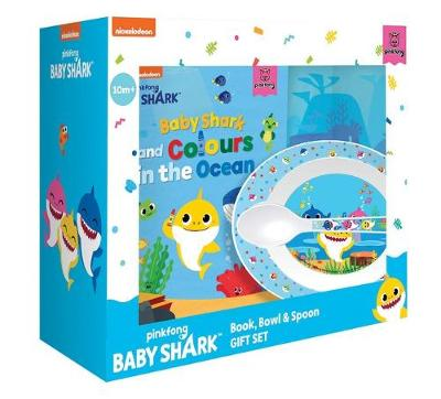 BABY SHARK BK BOWL & SPOON SET book