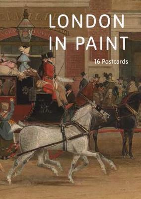 London in Paint: A Book of Postcards book