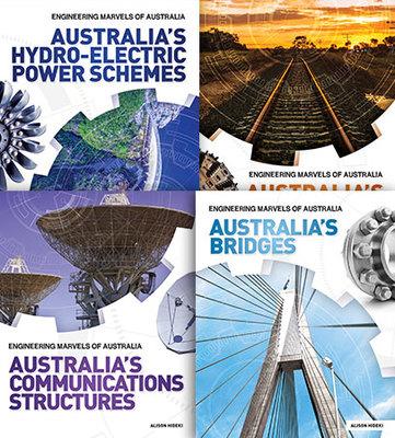 Engineering Marvels of Australia - Set of 4 book