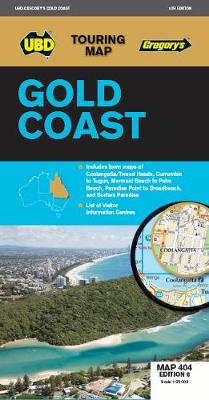 Gold Coast Map 404 8th ed by UBD Gregory's
