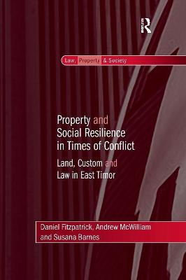 Property and Social Resilience in Times of Conflict book