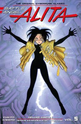 Battle Angel Alita Deluxe Edition 5 book