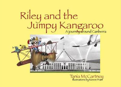 Riley and the Jumpy Kangaroo by Tania McCartney