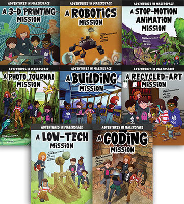 Adventures in Makerspace - Set of 8 by Shannon Mcclintock Miller